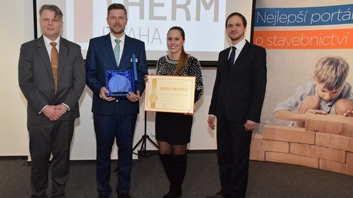 Zlatá medaile z Aquatherm 2018 pro závěsné tepelné čerpadlo geoTHERM VWS 36/4.1