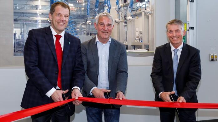 Slavnostní uvedení nové výrobní linky do provozu