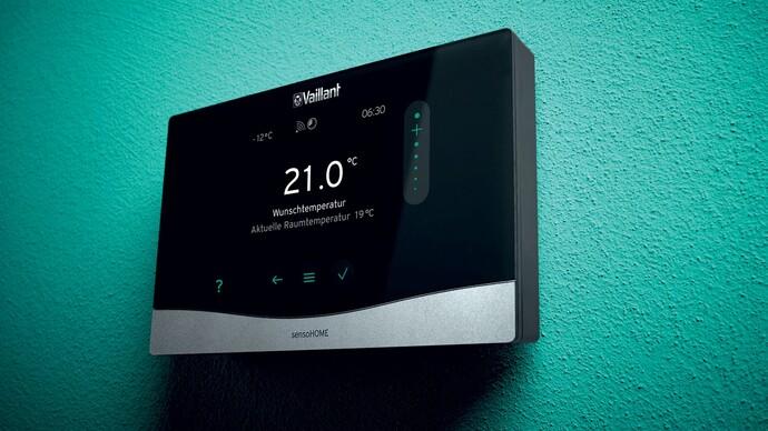 Prostorový termostat sensoHOME VRT 380 f