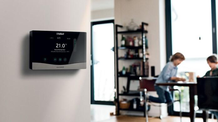 Moderní design a intuitivní ovládní – nový regulátor pro kotle a tepelná čerpadla Vaillant