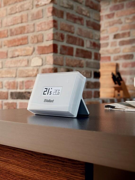 eRELAX Vaillant ekvitermní eBus regulátor pro jeden topný okruh a přípravu teplé vody