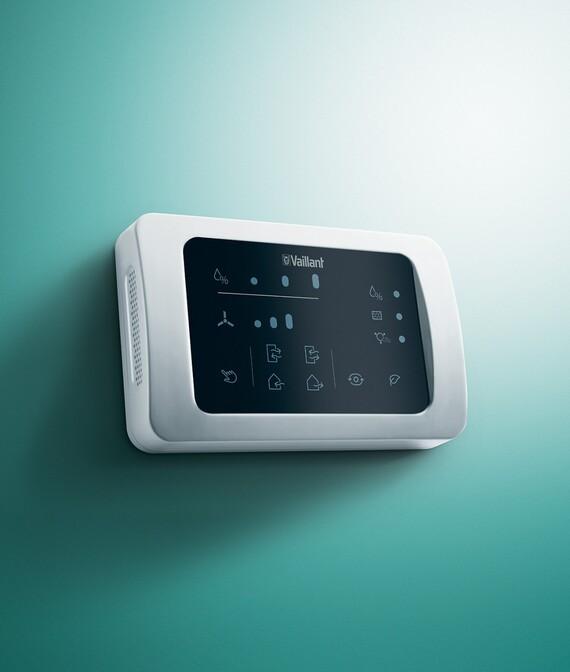 Ovládací panel s integrovaným senzorem CO2