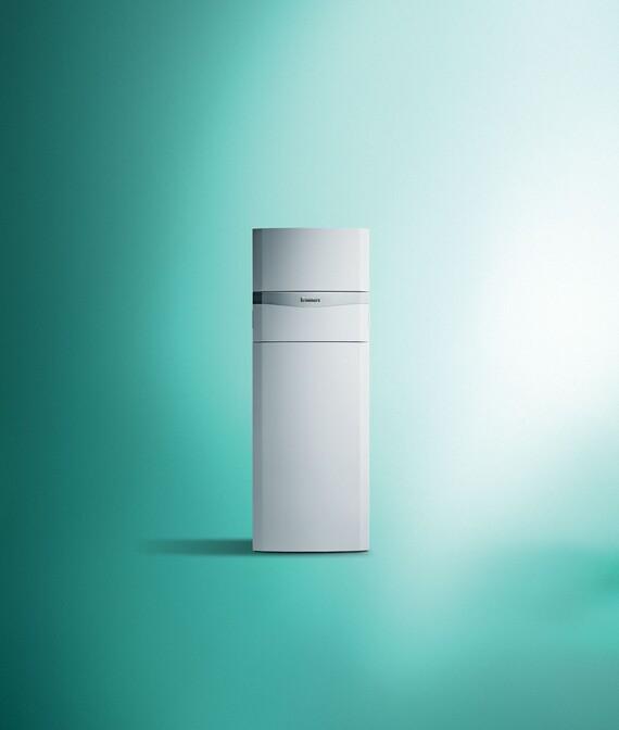 Stacionární kondenzační plynový kotel se zásobníkem auroCOMPACT