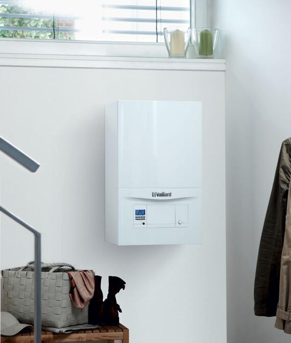 Závěsný plynový kotel s ohřevem TV VUW ecoTEC pro