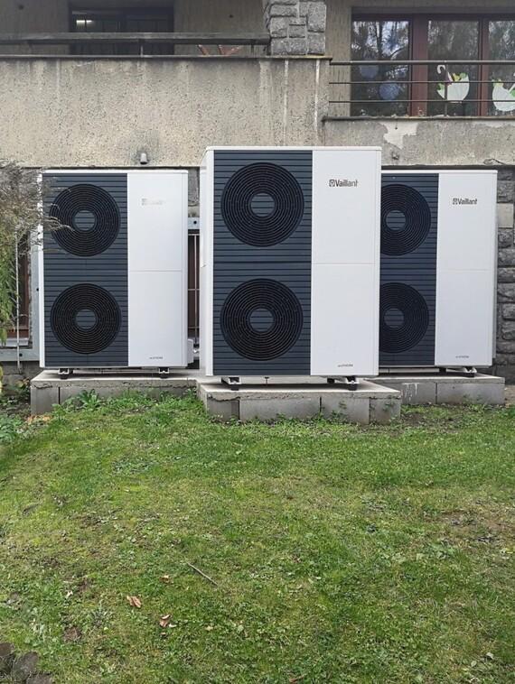 Instalace tepelného čerpadla aroTHERM split v mateřské škole v Davli
