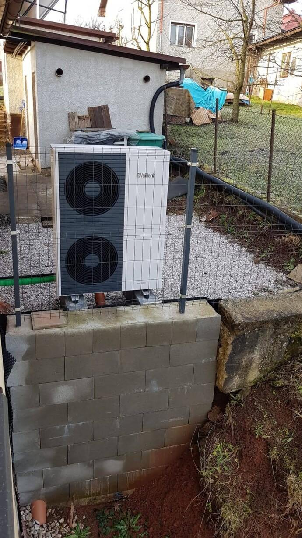Instalace tepelného čerpadla aroTHERM split v Trutnově