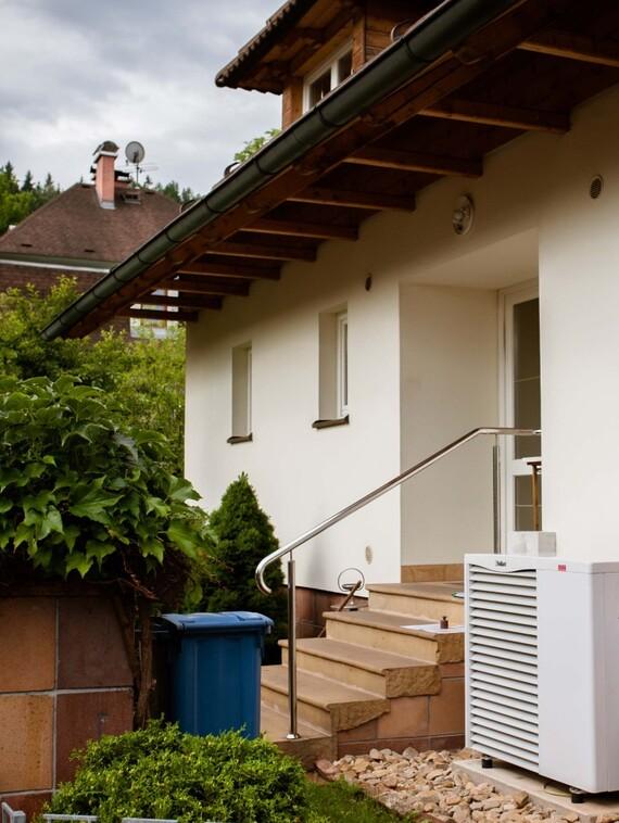 Tepelné čerpadlo aroTHERM Vaillant v rodinném domě