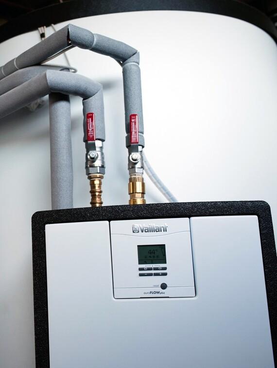 Rodinný dům Kladno - solární systém Vaillant