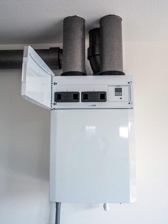 Rodinný dům Lány - Rekuperační jednotka pro rekuperaci tepla