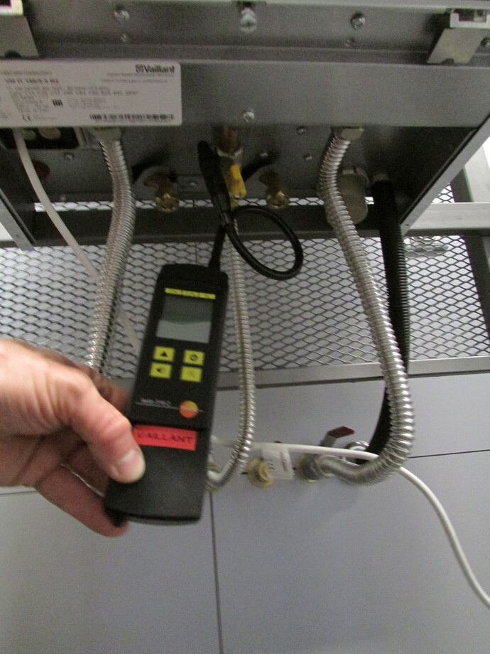 Kontrola těsnosti plynu