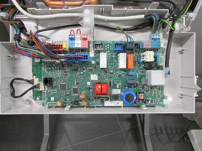 Připojení elektrických prvků topného systému